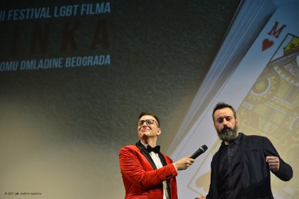 Photo of International queer filma festival Merlinka
