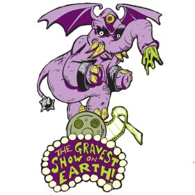 Logo of Three Corpse Circus Horror from Around the World