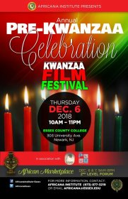 Photo of Kwanzaa film festival Anti-Vaping Short Film Competition