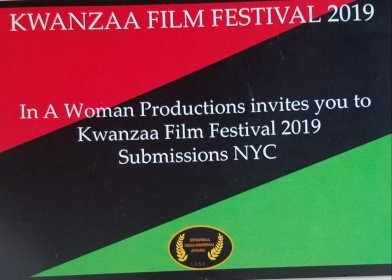 Logo of Kwanzaa film festival Anti-Vaping Short Film Competition