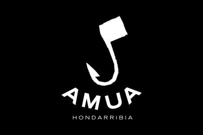 Logo of AMUA. Short music film festival