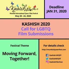 Logo of KASHISH Mumbai International Queer Film Festival