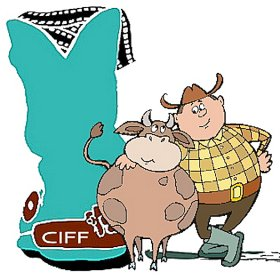 Logo of Cowpokes Int'l Film Festival