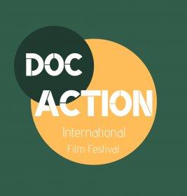Logo of DocAction International Film Festival