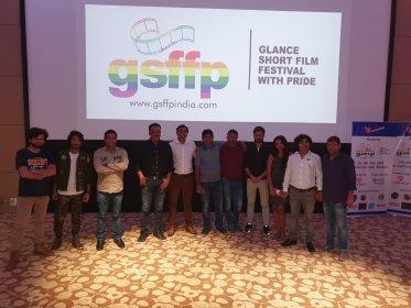 Logo of Glance Short Film Festival With Pride
