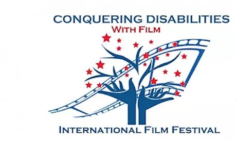 Logo of Conquering Disabilities With film International Film Festival