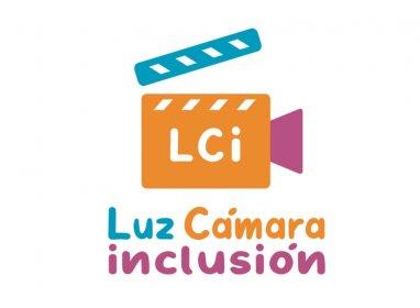 Logo of Concurso de Cortometrajes Luz Cámara e Inclusión