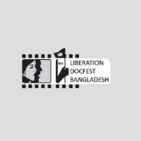 Logo of Liberation Docfest Bangladesh