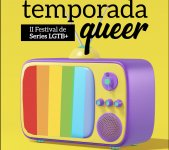 Logo of Temporada Queer, Festival de Series LGTB+