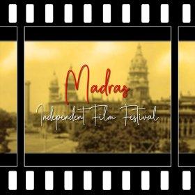 Logo of Madras Independent Film Festival
