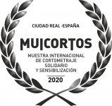 Logo of 'Muicortos' Muestra Internacional De Cortometraje Solidario De Ciudad Real