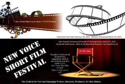 Logo of New Voice Short Film Festival