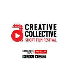Logo of AAO Creative Collective Indian Short Film Festival