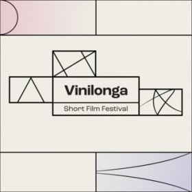 Logo of Vinilonga - Int. Short Film & Music Video Festival