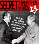 Logo of Secret Treaties: Strange Political Bedfellows