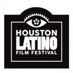 Logo of Houston Latino Film Festival with Houston Votes Live