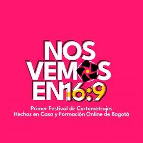 Logo of Nos Vemos en 16:9 - Bogota Homemade Short Film Festival