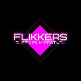 Logo of Flikkers Queer Film Festival