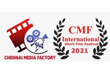 Logo of Chennai Media Factory International Short Film Festival