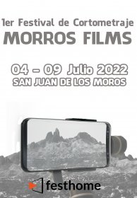 Logo of 1st Morros Films Festival Made with Smartphones