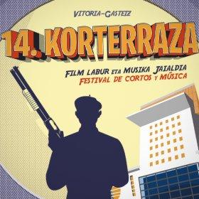 Logo of KORTERRAZA short film festival
