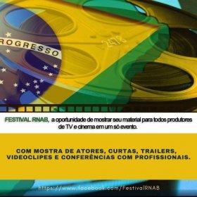 Logo of RNAB Festival (Revealing New Brazilian Actors)