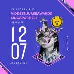 Logo of Viddsee Fourth Juree Awards (Singapore Edition)