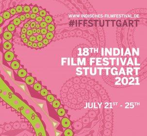 Logo of 18th Indian Film Festival Stuttgart 2021