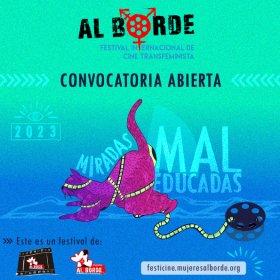 Logo of AL BORDE: Festival Internacional de cine Transfeminista