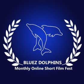 Logo of BLUEZ DOLPHINS Monthly Online Short Film Fest