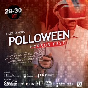 Logo of Poloween Horror Fest