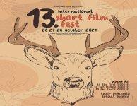 Logo of İnönü University 13. İnternational Short Film Fest