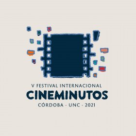 Logo of Córdoba International Film-minute Festival.