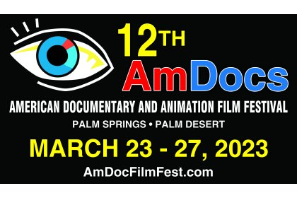 Logo of American Documentary And Animation Film Festival (AmDocs)
