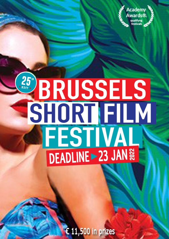 Promotional card of Brussels Short Film Festival