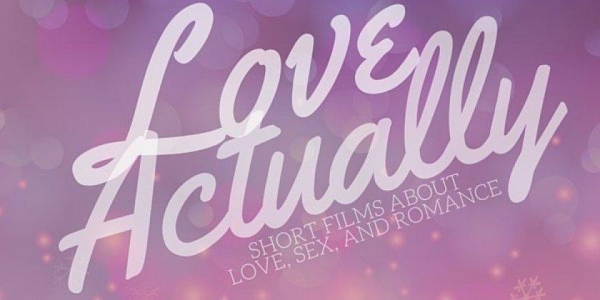 "Logo of Love Actually Int""l Short Film Showcase"